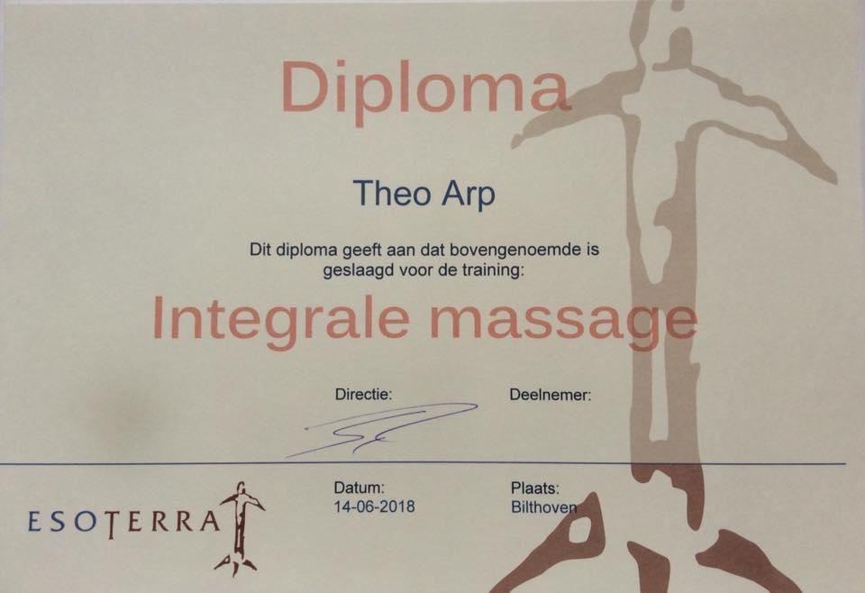 Diploma Theo Arp